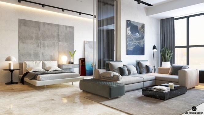 Studio Apartments That Exude Luxurious