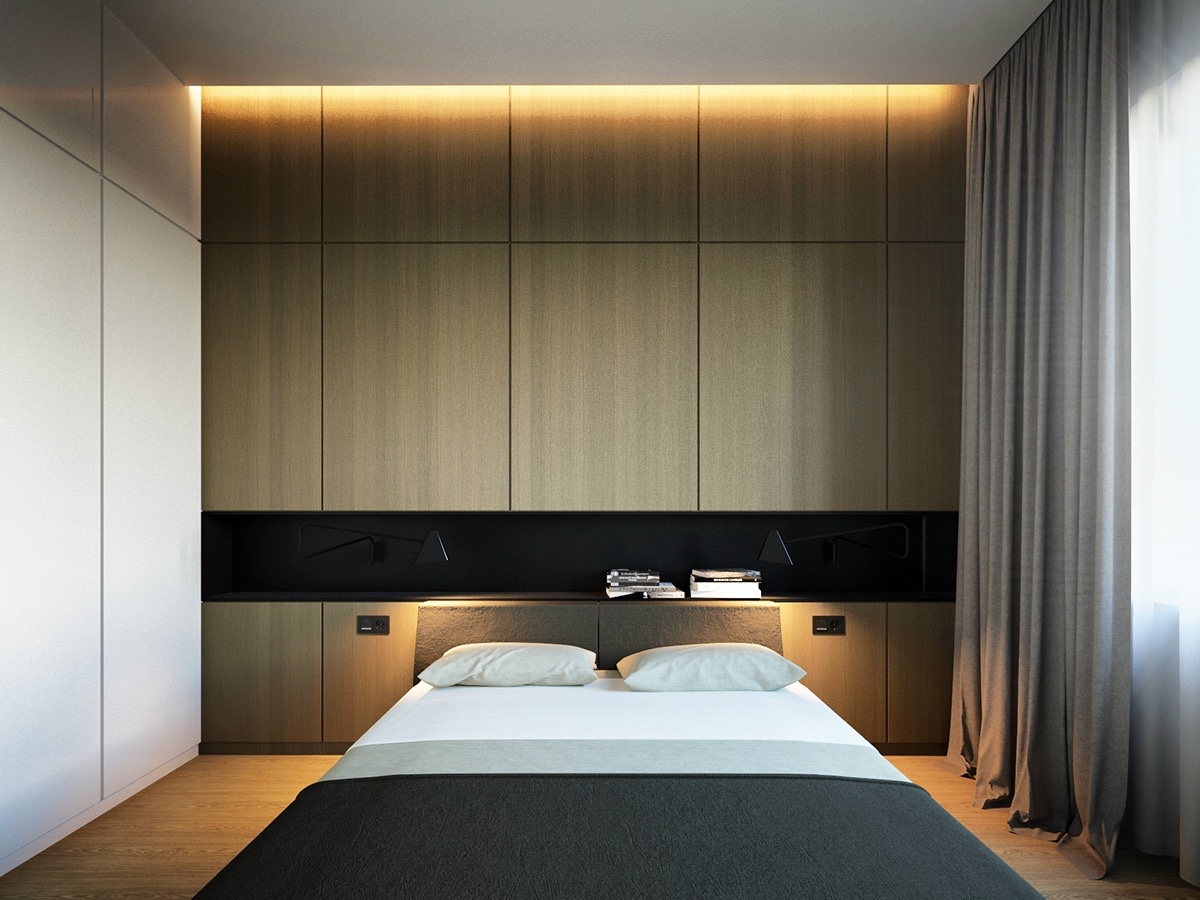 40 Serenely Minimalist Bedrooms To Help You Embrace Simple ... on Minimalist Bedroom Ideas  id=31514