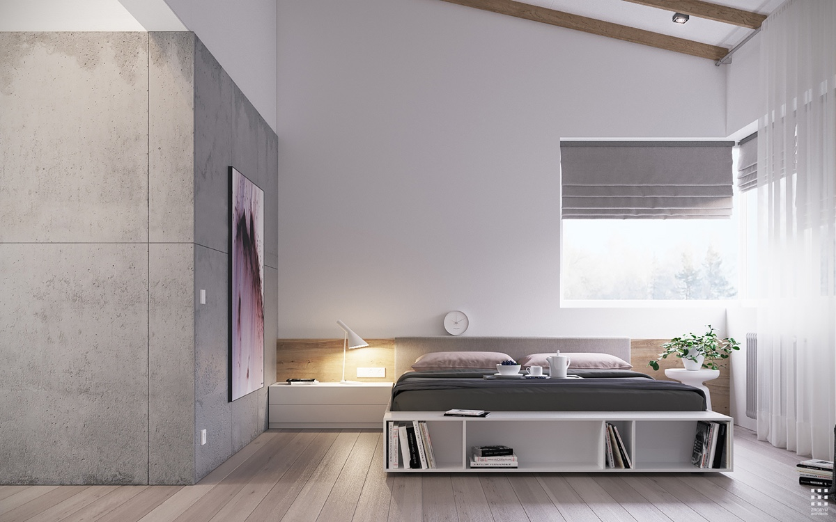 40 Serenely Minimalist Bedrooms To Help You Embrace Simple ... on Minimalist Bedroom Ideas  id=75783
