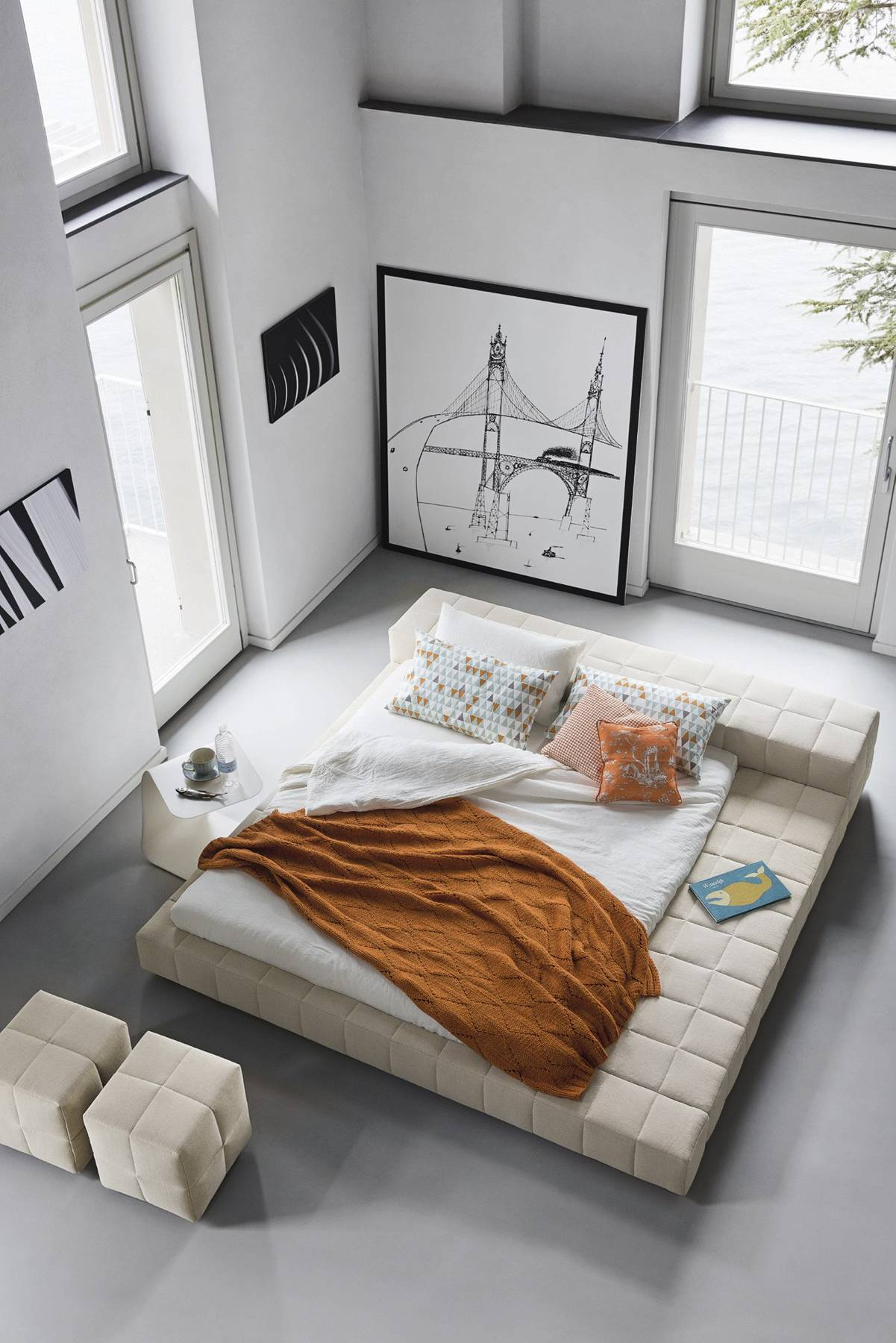 40 Serenely Minimalist Bedrooms To Help You Embrace Simple ... on Minimalist Bedroom  id=60238