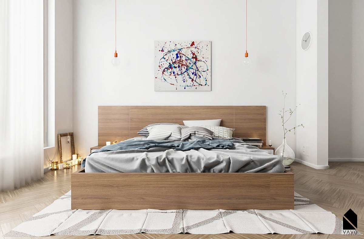 40 Serenely Minimalist Bedrooms To Help You Embrace Simple ... on Bedroom Minimalist Design Ideas  id=80140