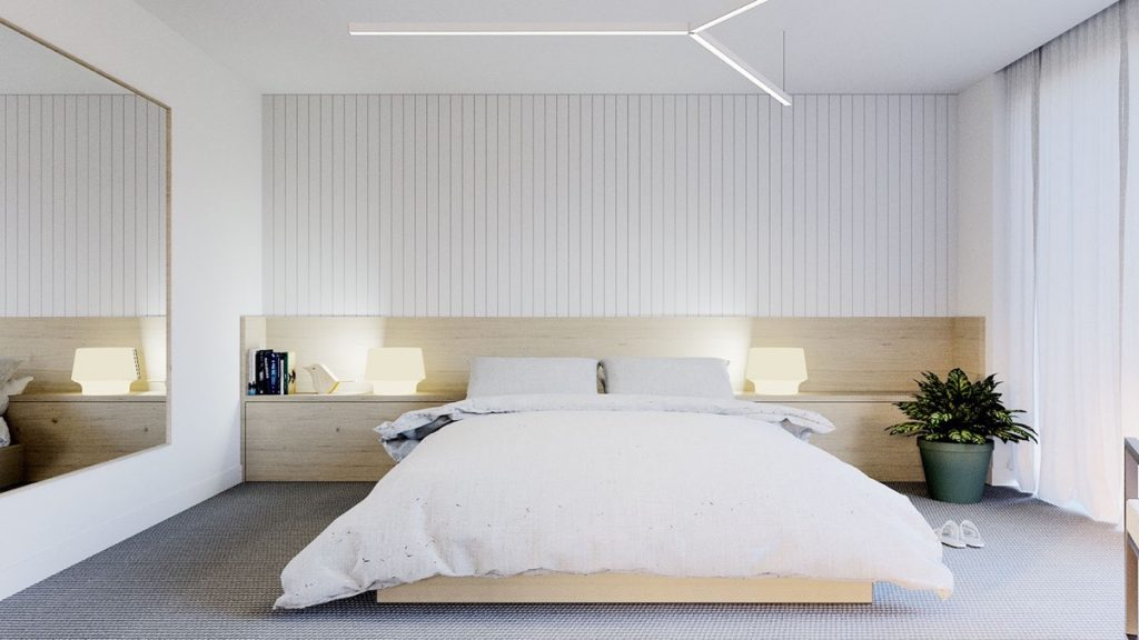 40 Serenely Minimalist Bedrooms To Help You Embrace Simple ... on Minimalist Bedroom  id=93898