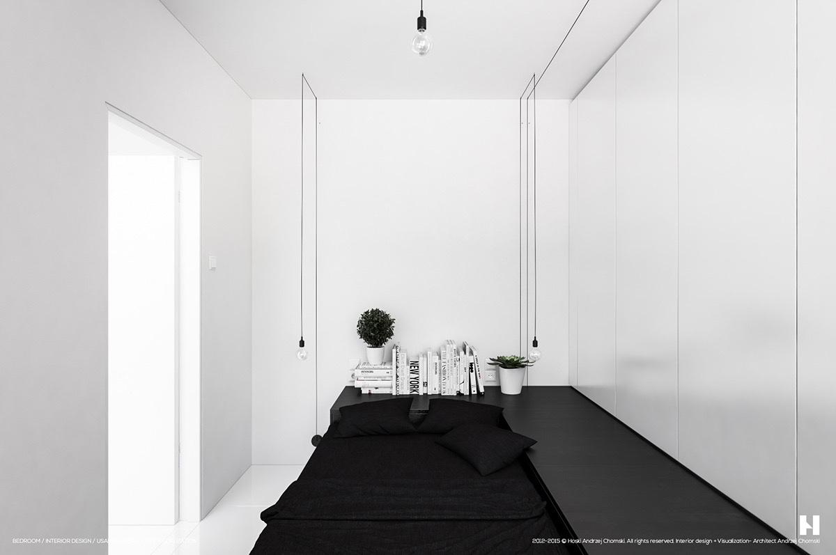 40 Serenely Minimalist Bedrooms To Help You Embrace Simple ... on Bedroom Minimalist Design Ideas  id=50713