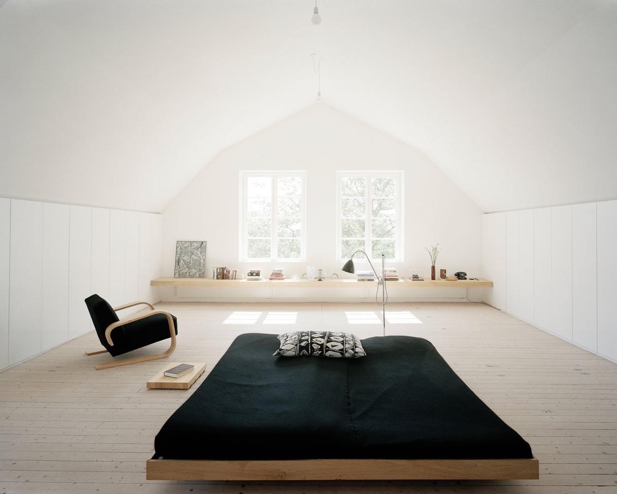 40 Serenely Minimalist Bedrooms To Help You Embrace Simple ... on Bedroom Minimalist Design Ideas  id=79645