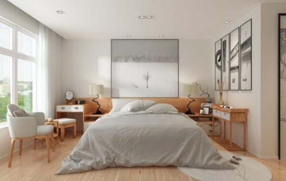 A Beautiful 2 Bedroom Modern Chinese House With Zen Elements