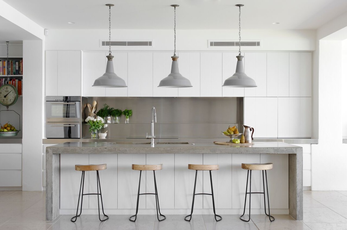30 Gorgeous Grey and White Kitchens that Get Their Mix Right on Images Of Modern Kitchens  id=31512