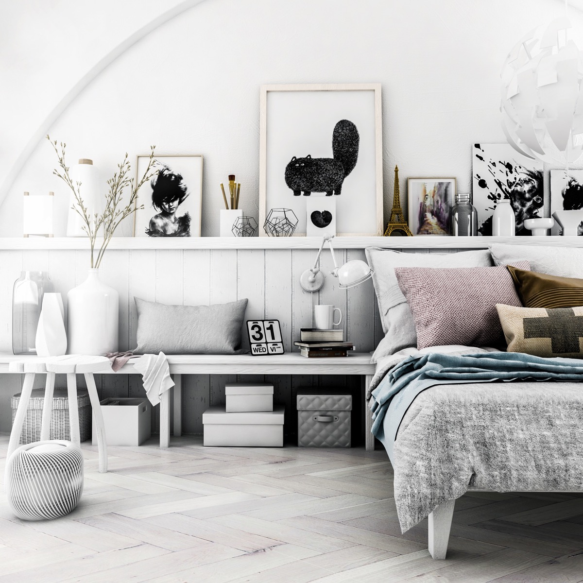 HOME DESIGNING: 40 Beautiful Bedrooms That We Are In Awe ... on Room Decor Aesthetic id=66374