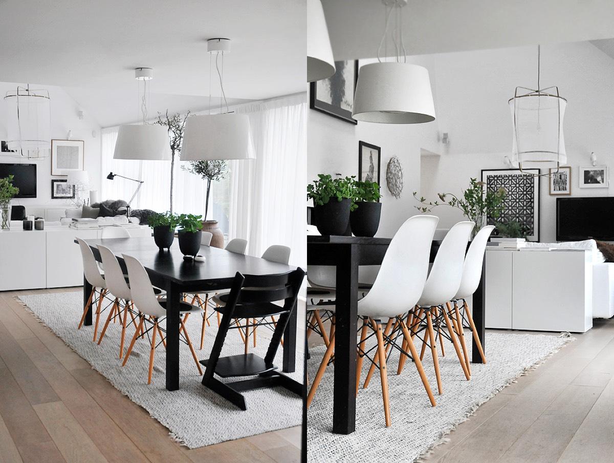 30 Black White Dining Rooms That Work Their Monochrome Magic