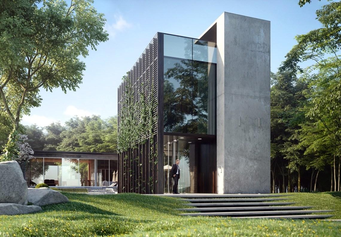 HOME DESIGNING: 50 Stunning Modern Home Exterior Designs ...