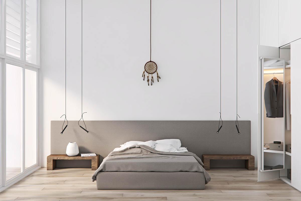 Minimalist Style Design Of A 3 Bed 2 Bath 2 Floor House on Minimalist Bedroom  id=91988