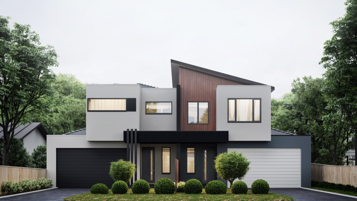 50 Stunning Modern Home Exterior Designs That Have Awesome ... on Modern House Painting Ideas  id=30700