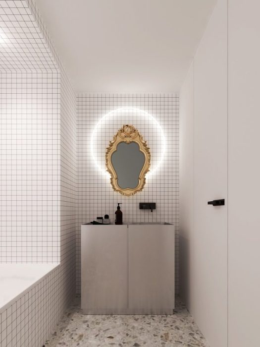 6 sleek studios with glass walled bedrooms