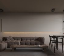 low-ceiling-210x185 Modern Minimalist Apartment Designs Under 75 Square Meters (808 Square Feet) Upholstery in Victoria
