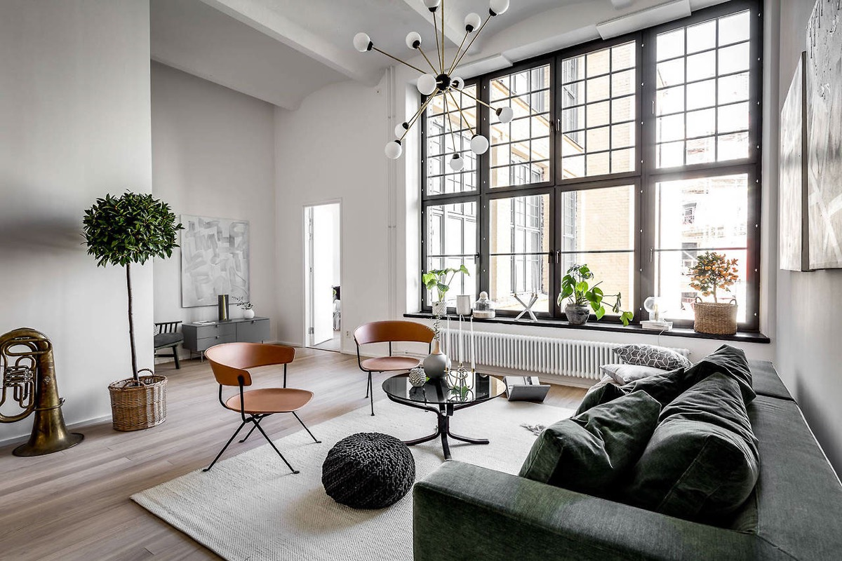 5 Scandinavian-Style Apartments on Apartment Decorating Styles  id=93026