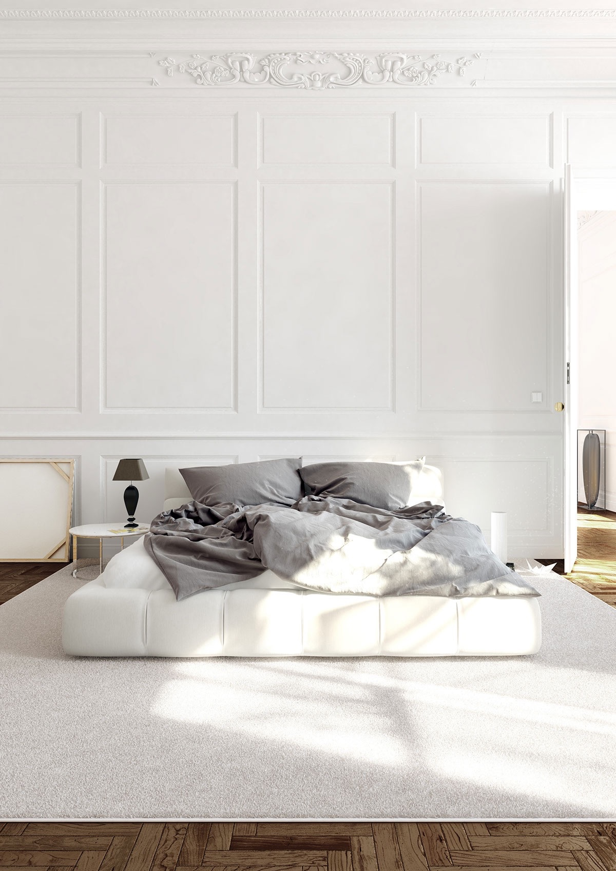 29 White Bedrooms That Exude Calmness