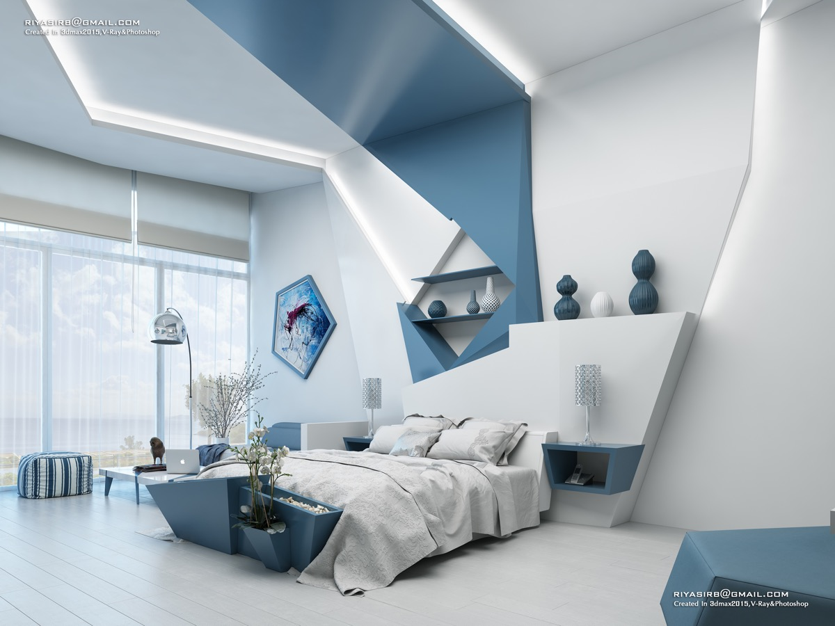 44 Awesome Accent Wall Ideas For Your Bedroom