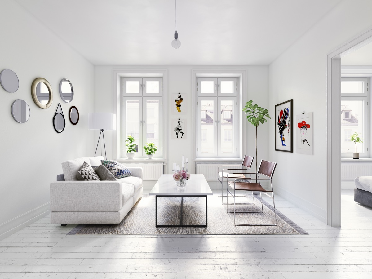 40 Gorgeously Minimalist Living Rooms That Find Substance ... on Minimalist Living Room  id=20539