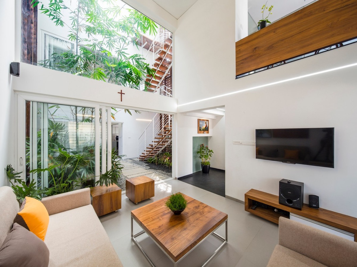 40 Gorgeously Minimalist Living Rooms That Find Substance ... on Minimalist Room Design  id=96321
