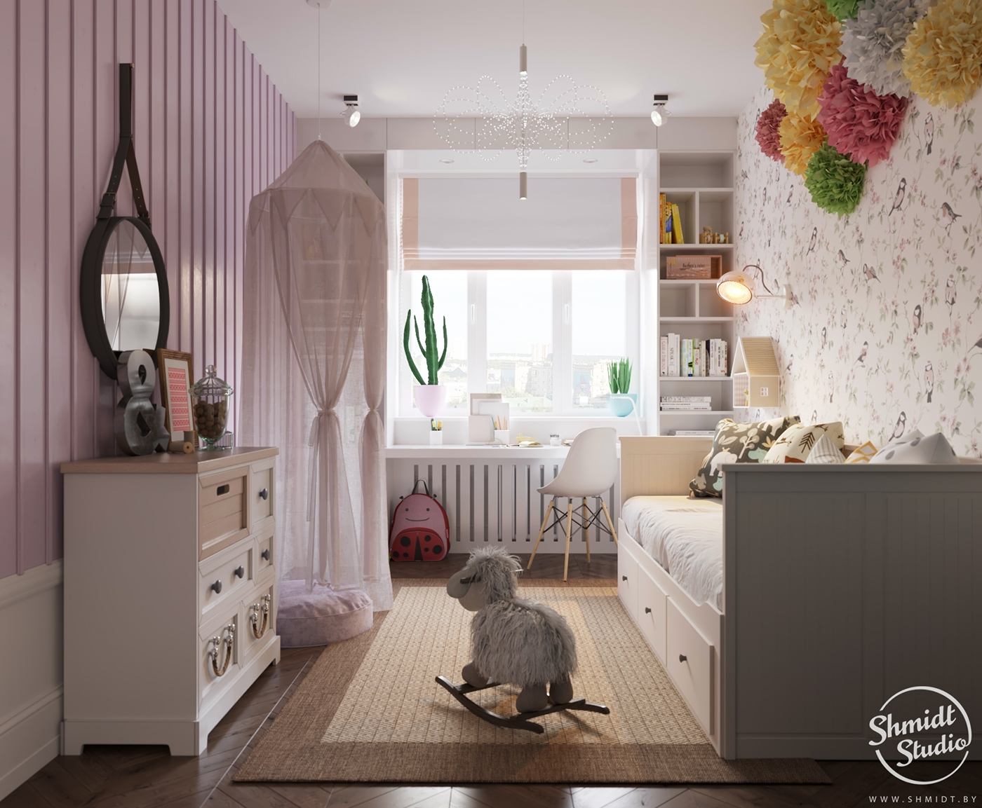A Scandinavian Chic Style 3 Bedroom Apartment For A Young