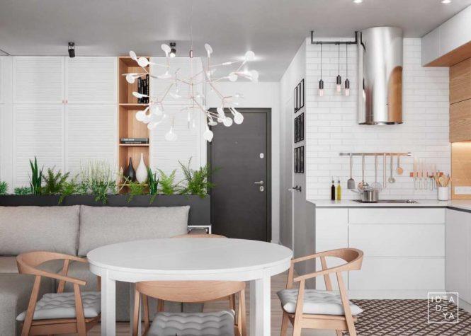 3 Modern Small Apartment Designs Under