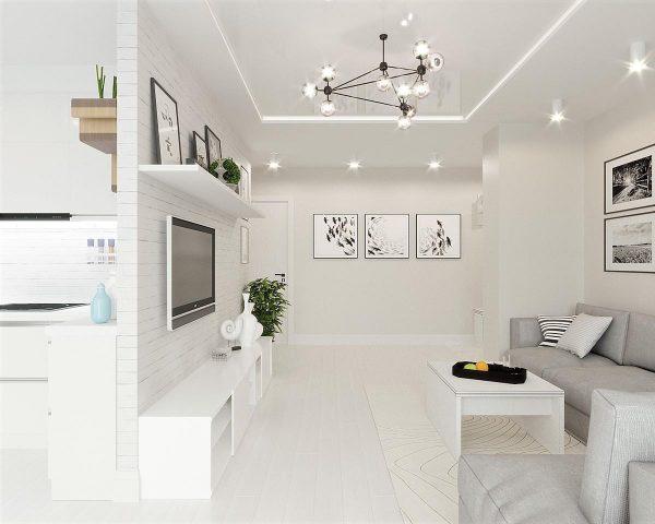 Lasciati ispirare dalle case più belle e arredate con stile da copiare. White Grey Interior Design In The Modern Minimalist Style Free Cad Download World Download Cad Drawings