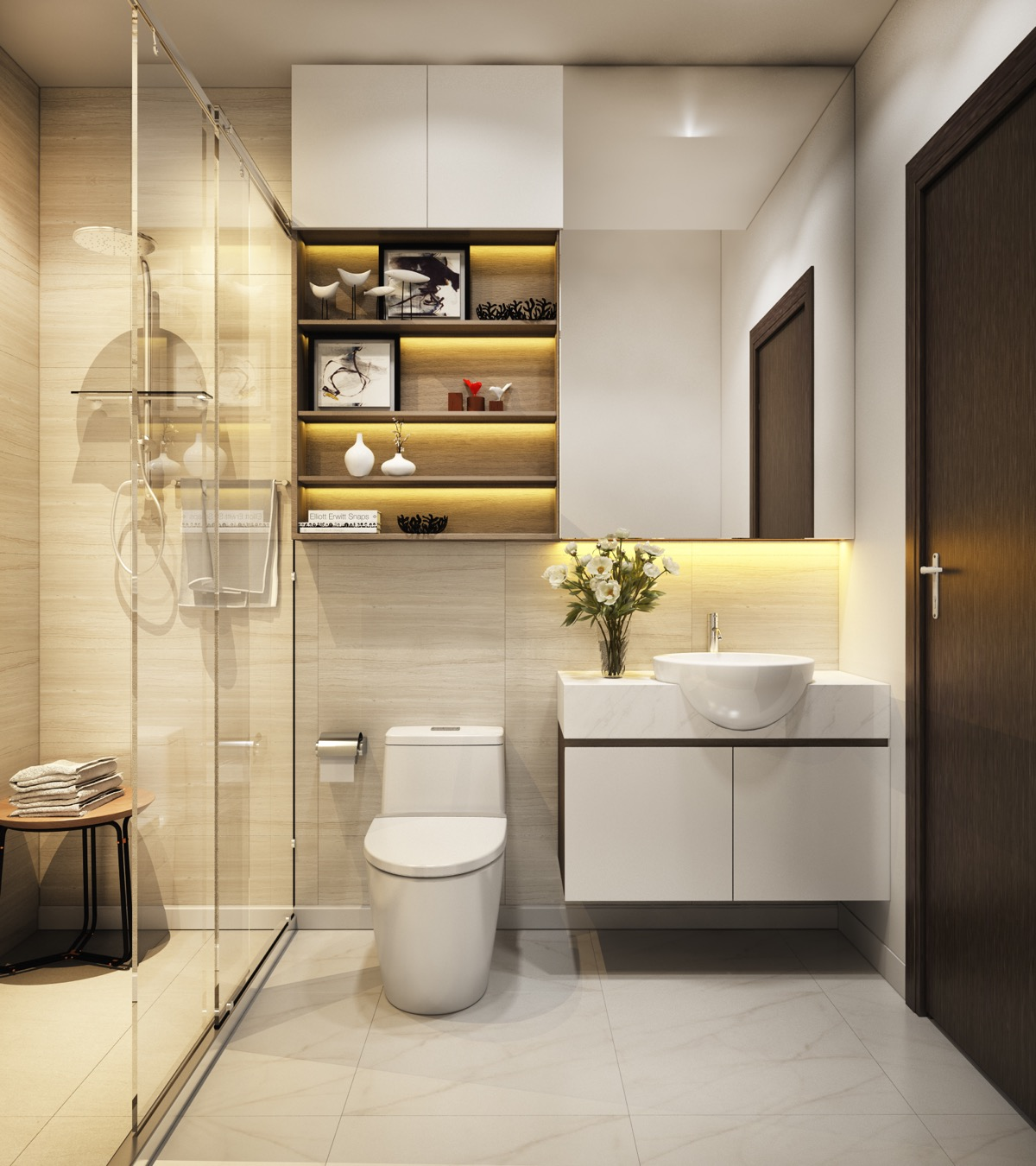 40 Modern Minimalist Style Bathrooms on Modern Small Bathroom  id=65407