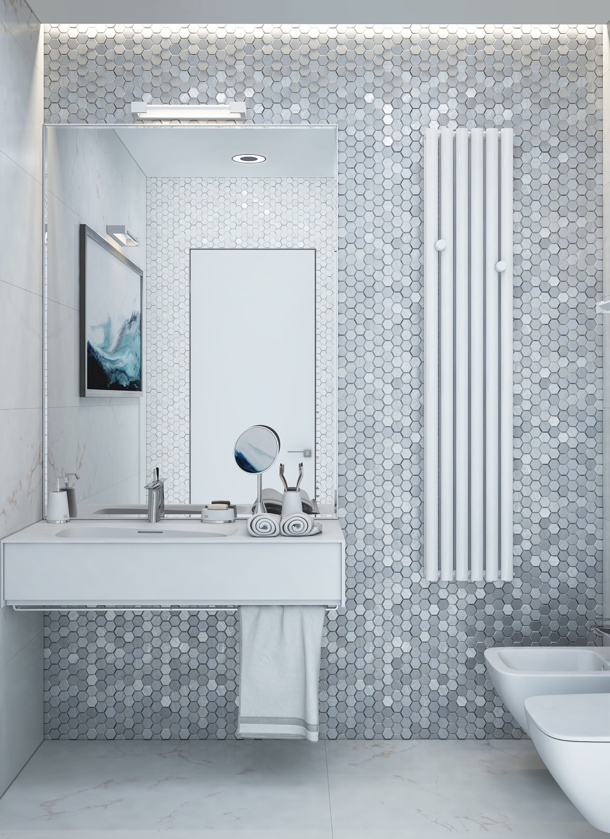 title | Minimalist Bathroom Tiles