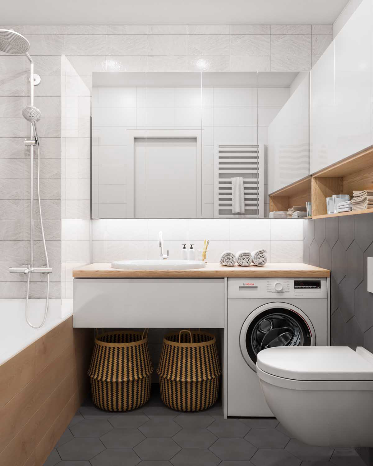 40 Modern Bathroom Vanities That Overflow With Style on Modern Small Bathrooms  id=36386