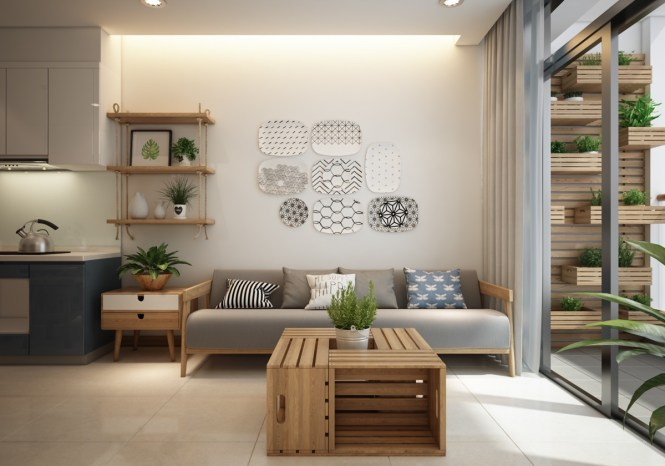 Modern Apartment Design With Asian