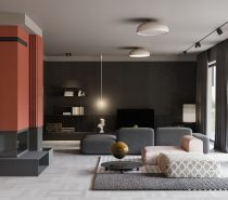 grey-living-room-1-210x185 Modern Minimalist Apartment Designs Under 75 Square Meters (808 Square Feet) Upholstery in Victoria