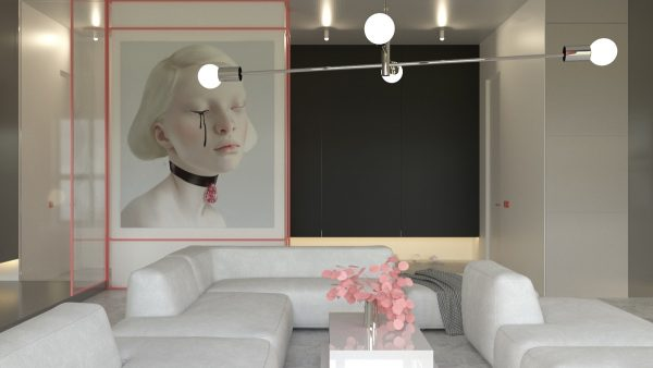 The Fourth And Last Interior Was Labelled By The Designer As U0027monochrome  Realism With Tasteu0027, And Is Set Over A 70 Square Meter Space In Kiev,  Ukraine.