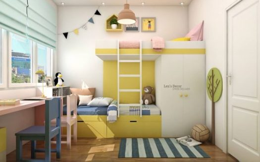 Yellow Kids\' Rooms: How To Use And Combine Bright Decor – Mixed Sign