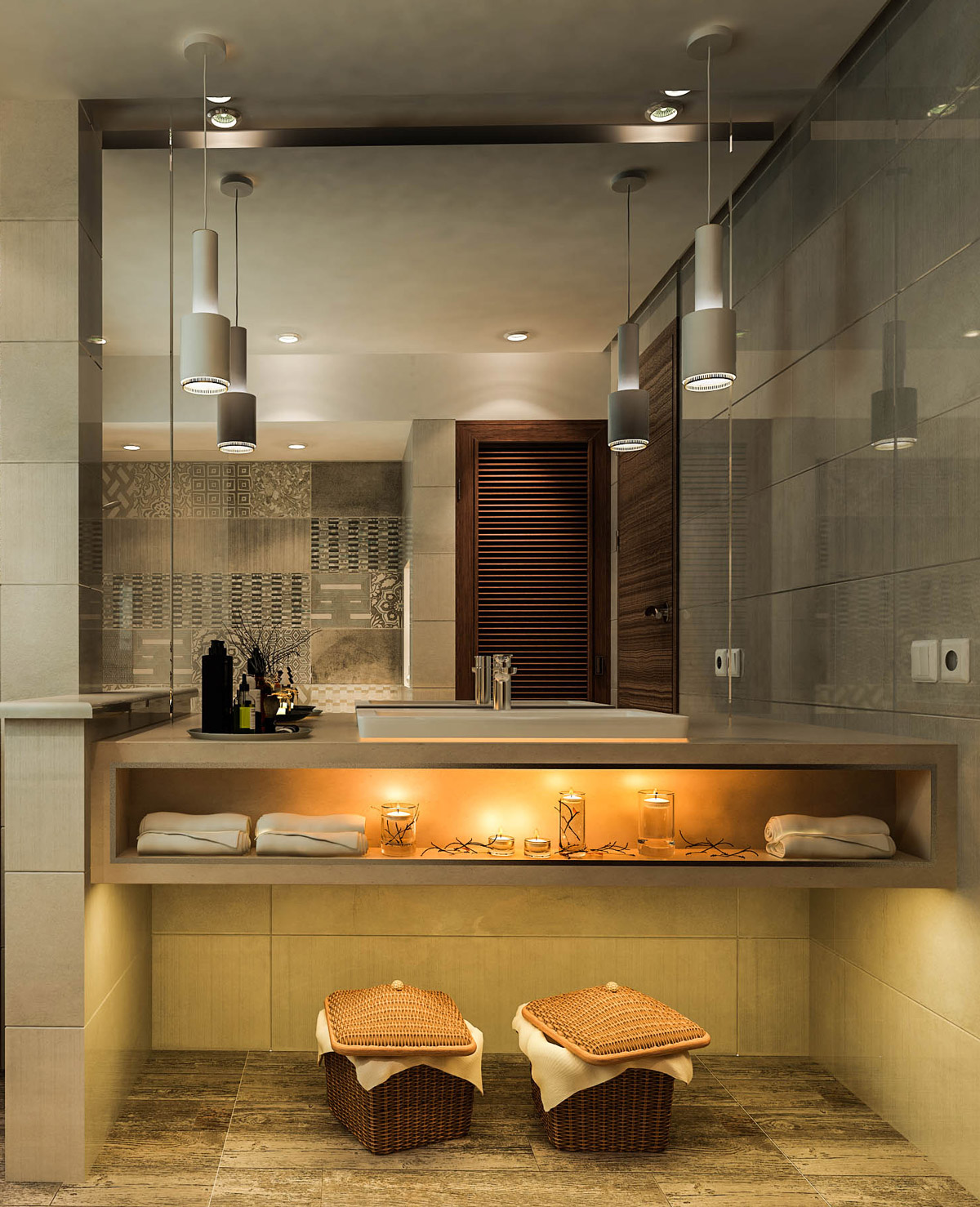 50 Luxury Bathrooms And Tips You Can Copy From Them on Modern Small Bathroom  id=41604