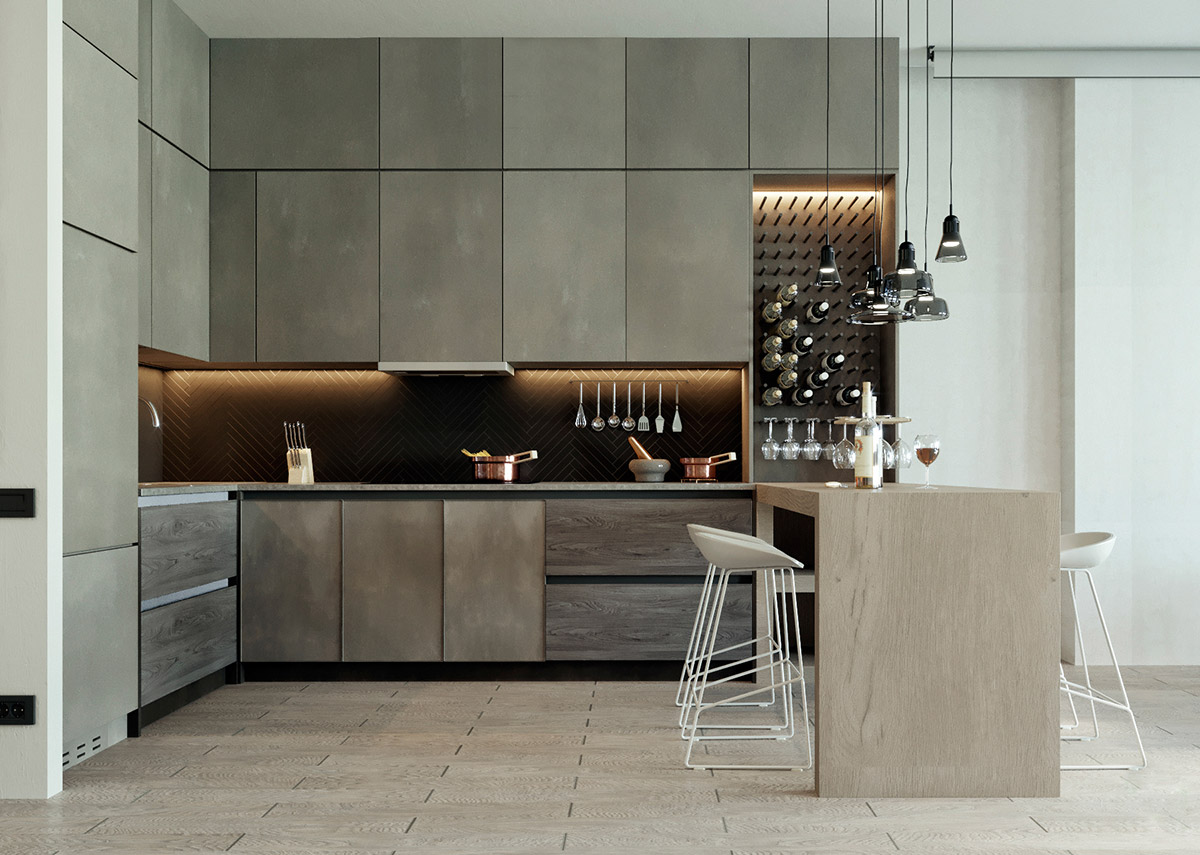 Modern Kitchen L Shape