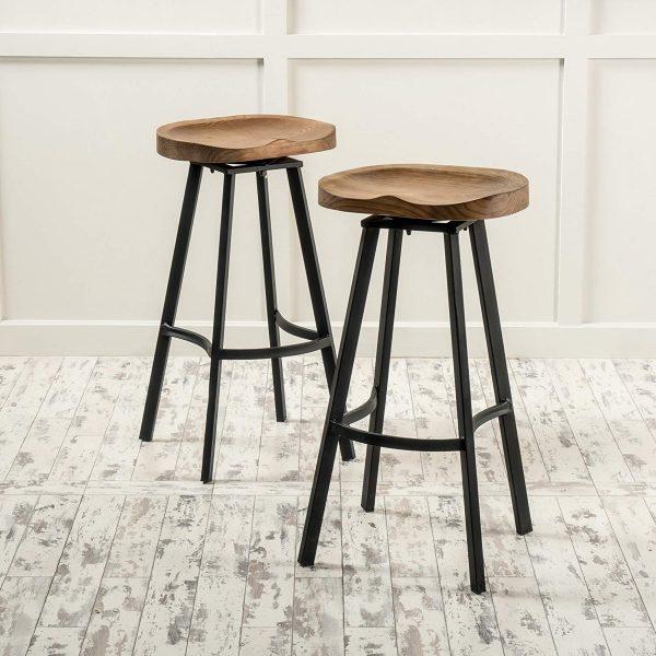 Admirable 51 Swivel Bar Stools To Go With Any Decor Free Cad Inzonedesignstudio Interior Chair Design Inzonedesignstudiocom