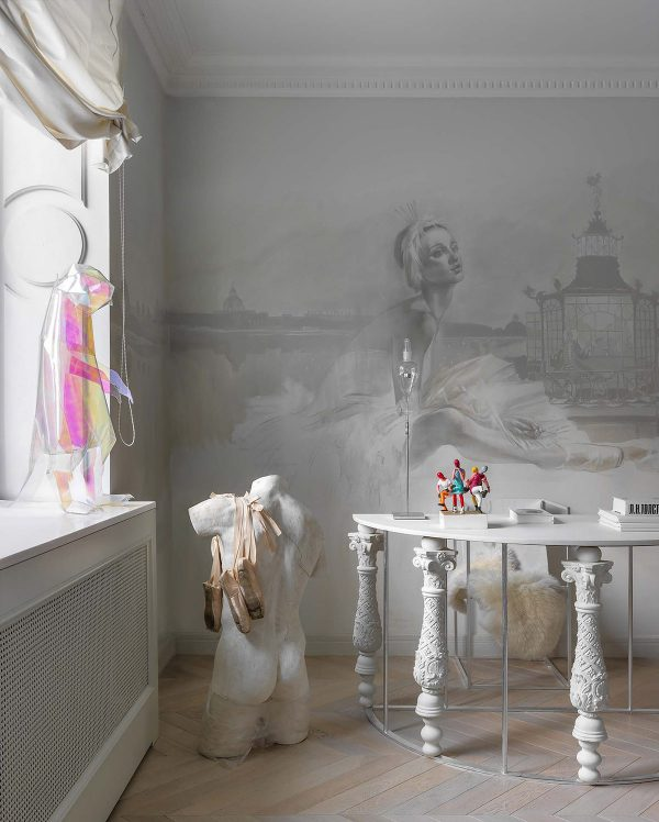 Ballet-themed-bedroom-600x748 Home Of Surreal Interiors & Modern Empire Style Upholstery in Victoria