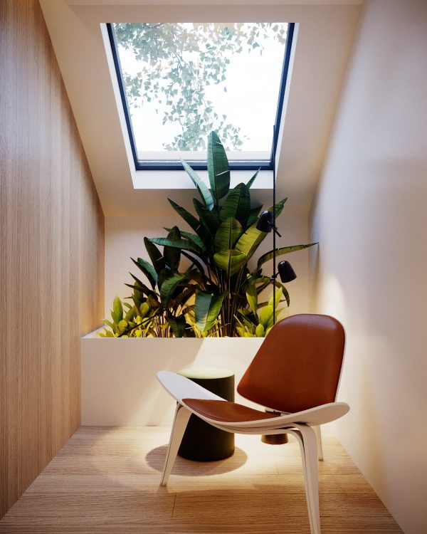 Black-frame-velux-window-600x750 Indoor Skylights: 37 Beautiful Examples To Tempt You To Have One For Yourself