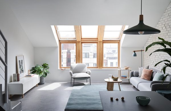 City-skylight-600x389 Indoor Skylights: 37 Beautiful Examples To Tempt You To Have One For Yourself