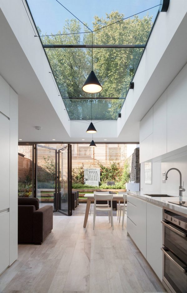 Linear-skylight-600x937 Indoor Skylights: 37 Beautiful Examples To Tempt You To Have One For Yourself