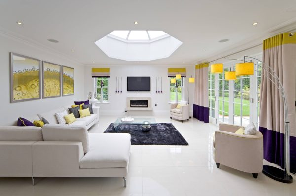 Octagonal-roof-lantern-600x398 Indoor Skylights: 37 Beautiful Examples To Tempt You To Have One For Yourself