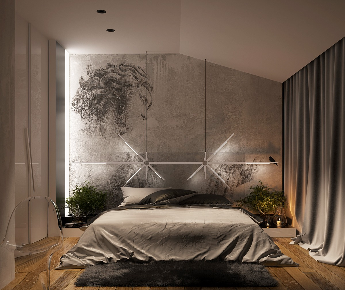 51 Cool Bedrooms With Tips To Help You Accessorize Yours on Cool Bedroom  id=51114