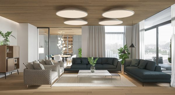 A Light Bright Modern Apartment With Wood Accents Pushup24