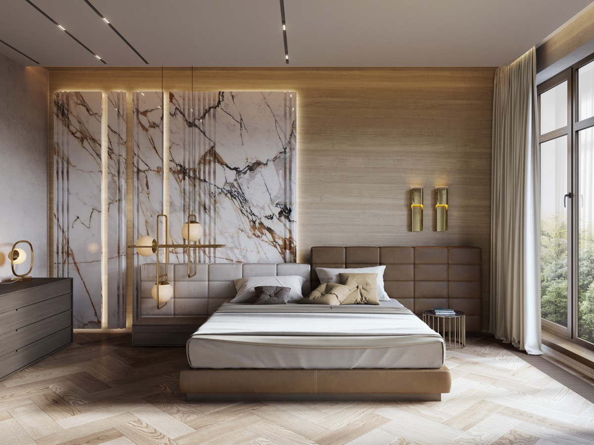 51 Luxury Bedrooms With Images, Tips & Accessories To Help ... on Luxury Master Bedroom  id=27794