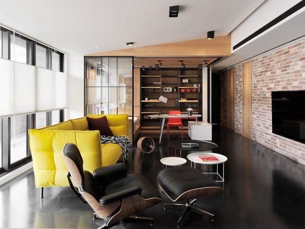 modern flat living room interior design ideas