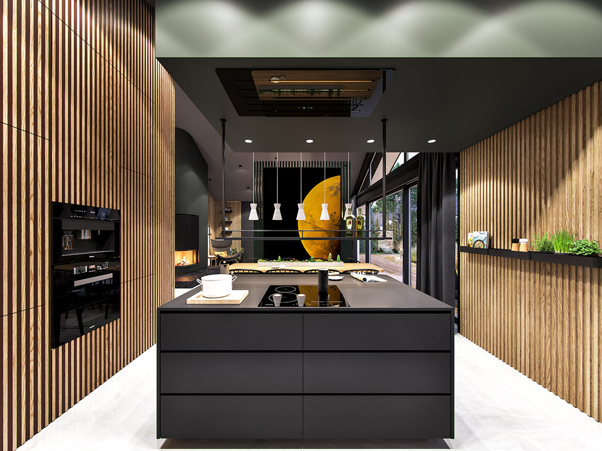Interstellar, An Out Of This World Stylish Home Interior