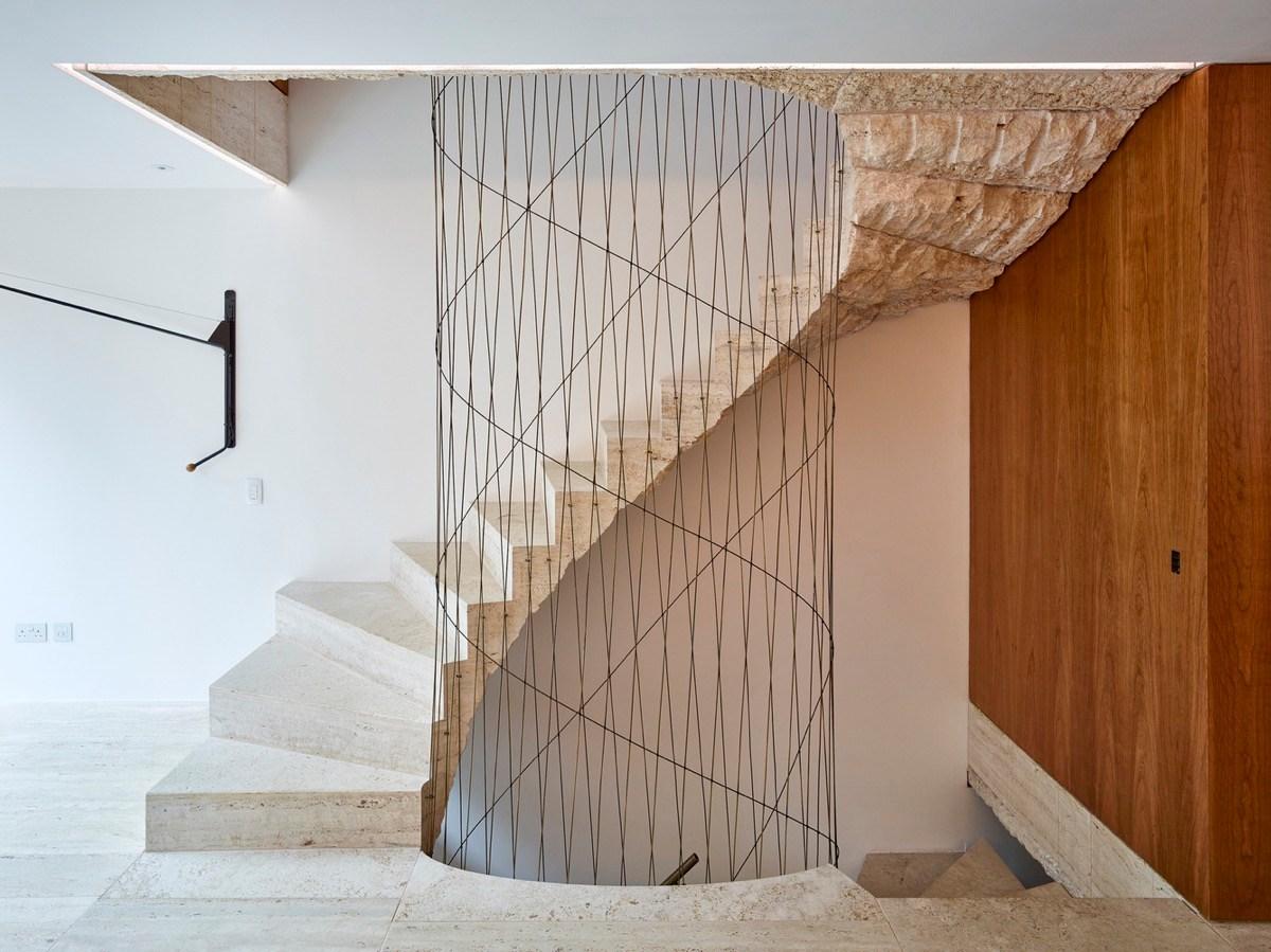 51 Stunning Staircase Design Ideas   Modern U Shaped Staircase   Design   Floating   Interior   Amazing Modern   Oval Shaped