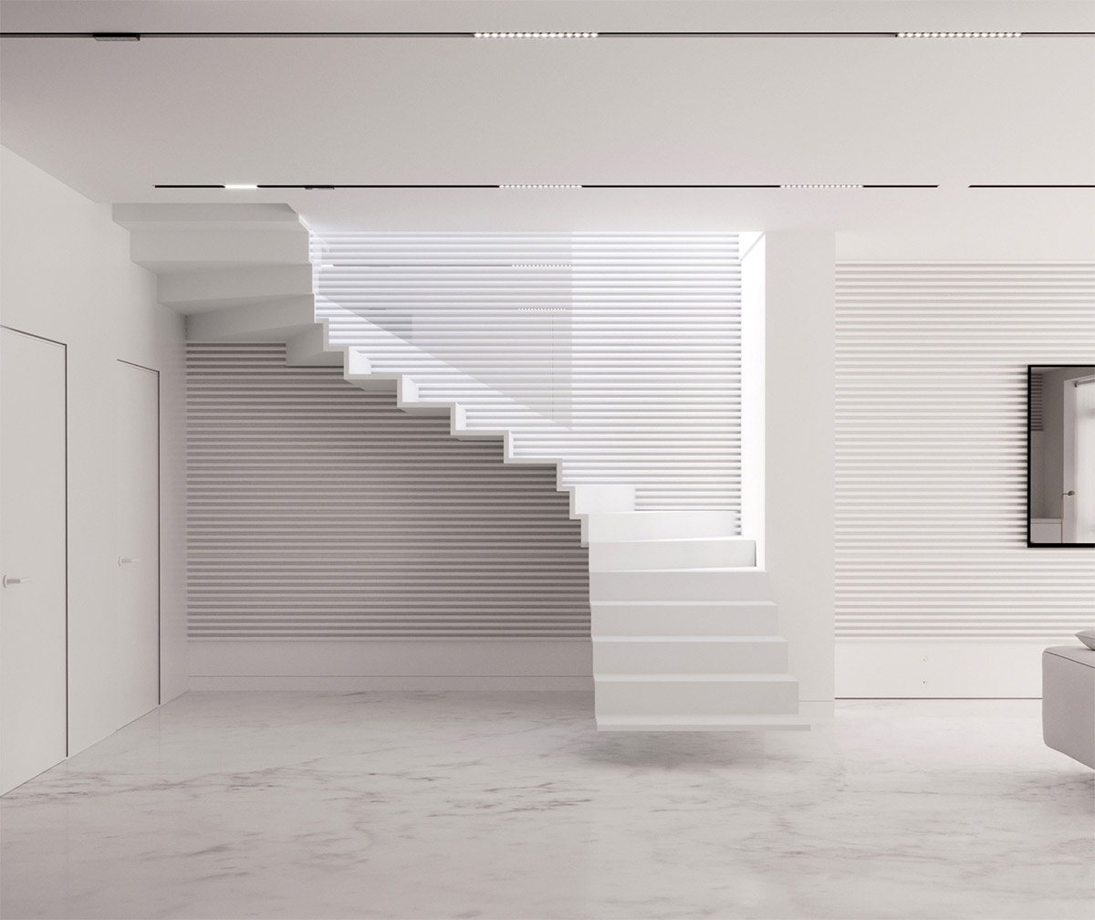 51 Stunning Staircase Design Ideas | Front Side Staircase Design | Ground Floor Tower | Gallery Photo Indian | Parapet Wall Front | Italian Type House | Residential Stair Tower