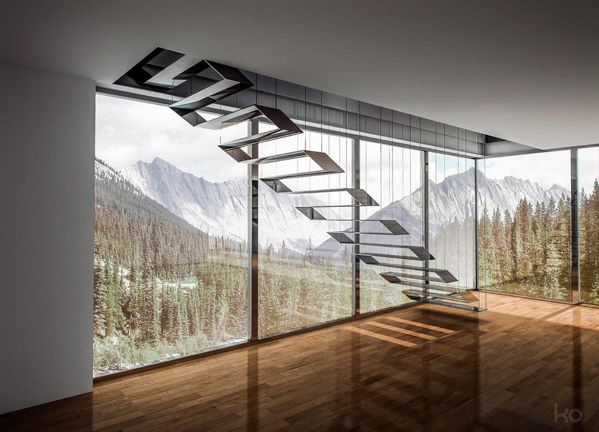 51 Stunning Staircase Design Ideas   Ladder Design In Home   Unusual   Spiral   Steel   Iron   Easy