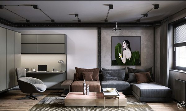 Rustic Industrial Interior Design Examples Free Autocad Blocks Drawings Download Center