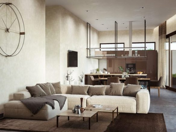 Awesome Coffee And Cream Interiors With A Swirl Of Sophisticated Beatyapartments Chair Design Images Beatyapartmentscom